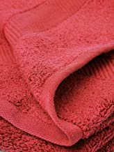Portico York Ultralux Red Cotton 2 PC Hand Towel (40X60)