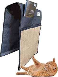 Multifunctional Cat Scratching Mat Sofa Armrest Storage Natural Sisal Cat Scratcher Pet Scratch Protector Couch Shield Cat...