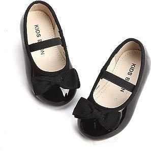 THEE BRON Girl's Toddler/Little Kid Ballet Mary Jane Flat...