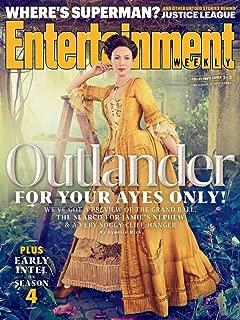Entertainment Weekly Magazine (November 17, 2017) Outlander Caitriona Balfe Cover 2 of 3