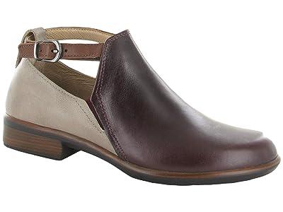 Naot Kamsin (Bordeaux Leather/Soft Stone Nubuck/Soft Chestnut Leather) Women