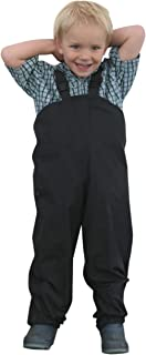 Suse's Kinder Tough Nylon Rain Overall Pants for Children. Sizes for Ages 1 Through 8