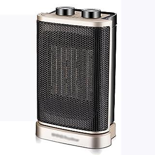 ZHIRONG Radiador Calentador eléctrico de oro de control remoto de cerámica calefacción 1500 W calor instantáneo vertical 210 * 700 mm Fácil de mover ( Diseño : Mechanical models )
