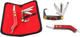 Professional Equine Horse Farrier Tool Grooming 2-Piece Hoof Knife Kit 984127