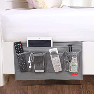 DuomiW 6 Pockets Bedside Storage Organizer, Beside Caddy, Table Cabinet Storage Organizer, TV Remote Control, Phones, Maga...