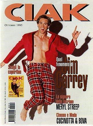 Ciak 10 del Ottobre 1995 Maria G. Cuccinotta - Raoul Bova-J. Carrey