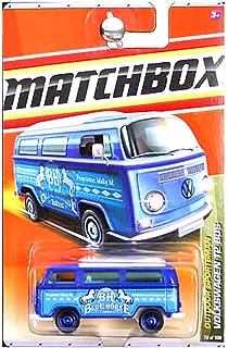 Matchbox 2011 Outdoor Sportsman Volkswagen VW T2 Bus Blue Horse