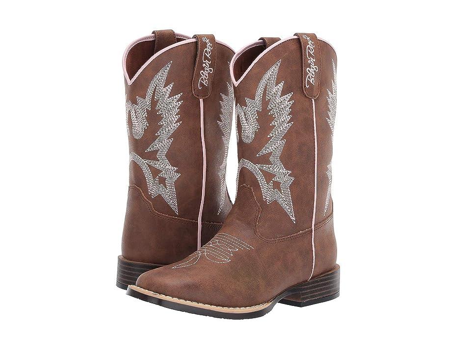 M&F Western Kids Kristina (Toddler/Little Kid) (Brown) Cowboy Boots