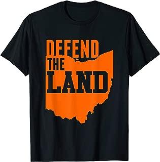 cleveland defend the land shirt