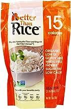 Better Than Rice. Certified Organic. Vegan, Gluten-Free, Non-GMO, Konjac Rice 14 Ounces (6 Pack)