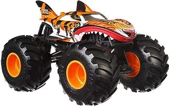 Hot Wheels Tiger Shark Monster Truck, 1:24 Scale (Renewed)