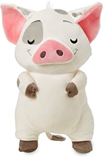 Disney Parks Exclusive Moana Pua the Pig Plush Doll with Gray Feet and Gray Tail Tip Approx 9 1//2