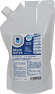 BRAINWATER 1kg 【塩素臭無し】 ナチュラル系 ブレインウォーター 除菌・消臭スプレーアルコールフリー