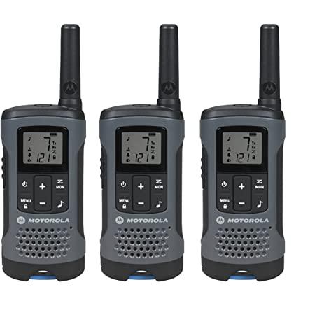 Motorola T200TP Talkabout Radio, 3 Pack
