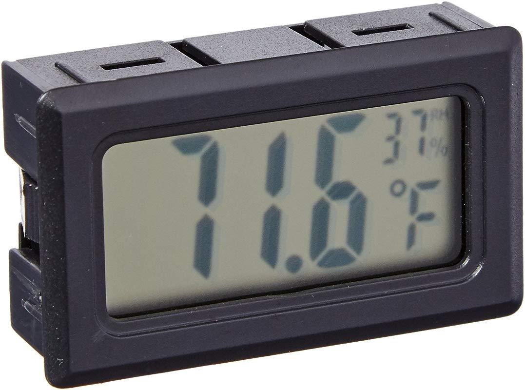 Avianweb Digital Thermo Hygrometer Mini Black