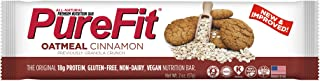PureFit Oatmeal Cinnamon Premium Nutrition Bars, 15 Count | 18G Protein, Performance Enhancement & Energy Bar – Gluten Free, Dairy Free, Low Carb, Vegan| 1.75/bar