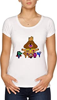Vendax Scoiattoli di Il Galassia T-Shirt Donna Bianco