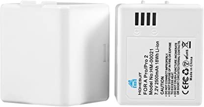 Homesuit 2-Pack 2500mAh Rechargeable Batteries Compatible with Arlo Pro,Arlo Pro 2 - Experience Uninterrupted Security All-Day - NOT Compatible with Arlo Ultra