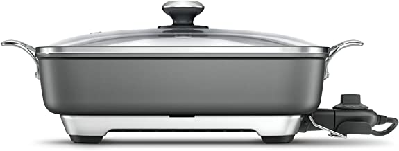 Breville BEF460GRY The Thermo Pro Banquet Diecast Al Frypan, Grey
