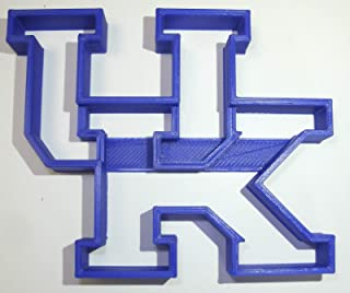 UK KENTUCKY WILDCATS FOOTBALL SPORTS TEAM LOGO SPECIAL OCCASION COOKIE CUTTER BAKING TOOL 3D PRINTED MADE IN USA PR920
