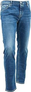 [JACOB COHEN ヤコブコーエン] メンズ ストレッチ タイトフィット 5ポケット テーパードデニム J682 COMF 1190-W4 10747 74(ブルー)