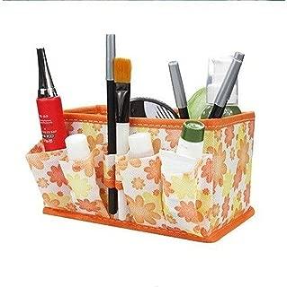 Home Storage Drawer Divider Desktop Organizer Container Nonwoven Boxes for Underwear Bra Makeup Tools Cosmetics Organiser Box,Rb-Stb23Orange