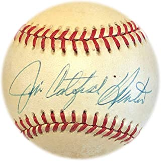 Jim Catfish Hunter Autographed Baseball - Autographed Baseballs