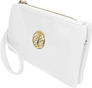 7ced06a2a Long & Son Women's Small Clutch, Wristlet, Shoulder,Cross-Body Bags 3141