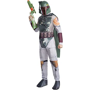 Clásico disfraz oficial Star Wars Boba Feto de Reubicar, para ...