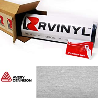 avery brushed aluminum vinyl