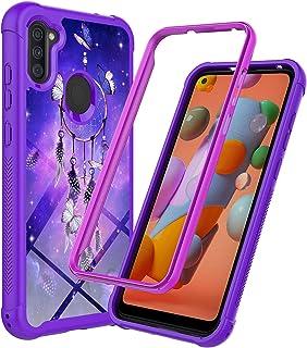 Samsung Galaxy A21 Case, Rosebono Hybrid IMD Design Graphic Anti-Scratch Fashion Cute Colorful Silicone Skin Cover Armor C...