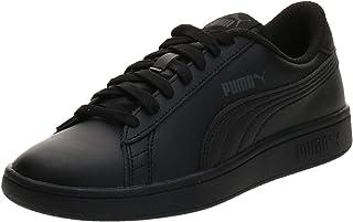PUMA Smash V2 L Jr Black, Sneaker Basse Mixte Enfant