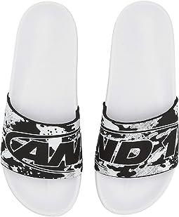 Black Camo/White