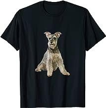 AKC Miniature Schnauzer Dog Portrait - Winston.