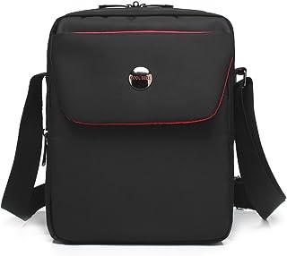 CoolBELL 10.6 inches Shoulder Bag Fabric Messenger Bag iPad Carrying case Hand Bag Tablet Briefcase Waterproof Oxford Cloth Laptop Computer Shoulder Bag for iPad/Men/Women/College/Teen,Black
