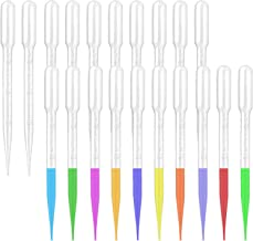 moveland 150PCS 3ML Plastic Transfer Pipettes with Scale, Essential Oils Dropper for Lab and Makeup