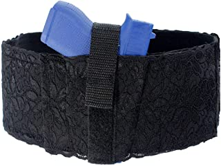 Daltech Force - Women's Lace Belly Band Gun Holster CCW Concealed Carry