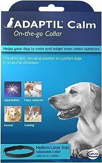 Adaptil Calming Pheromone Collar for Medium Large Dogs. Max Adjustable Neck Size 24.5 Inch