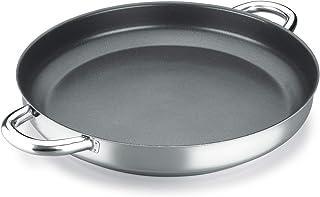 PAELLERA ALZA CLASSIC MASTER. PAELLERA fabricada en acero inoxidable 18/10, antiadherente triple capa, apta para todo tipo de cocina, INDUCCIÓN. Fácil Limpieza. Apto para lavavajillas. 26cm