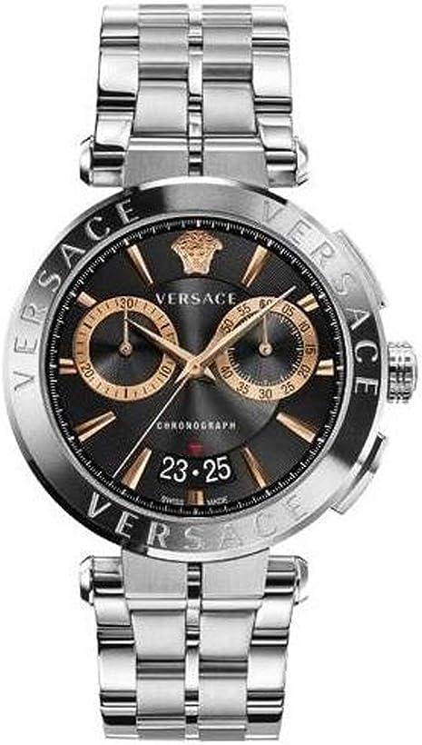 Orologio versace ve1d01019 aion heren horloge cronografo 45 mm