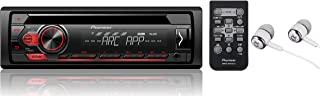 Pioneer Single DIN In-Dash CD/CD-R/RW, MP3/WMA/WAV AM/FM Front USB/Auxiliary Input MIXTRAX and ARC Support Car Stereo Receiver Detachable face plate / FREE ALPHASONIK EARBUDS