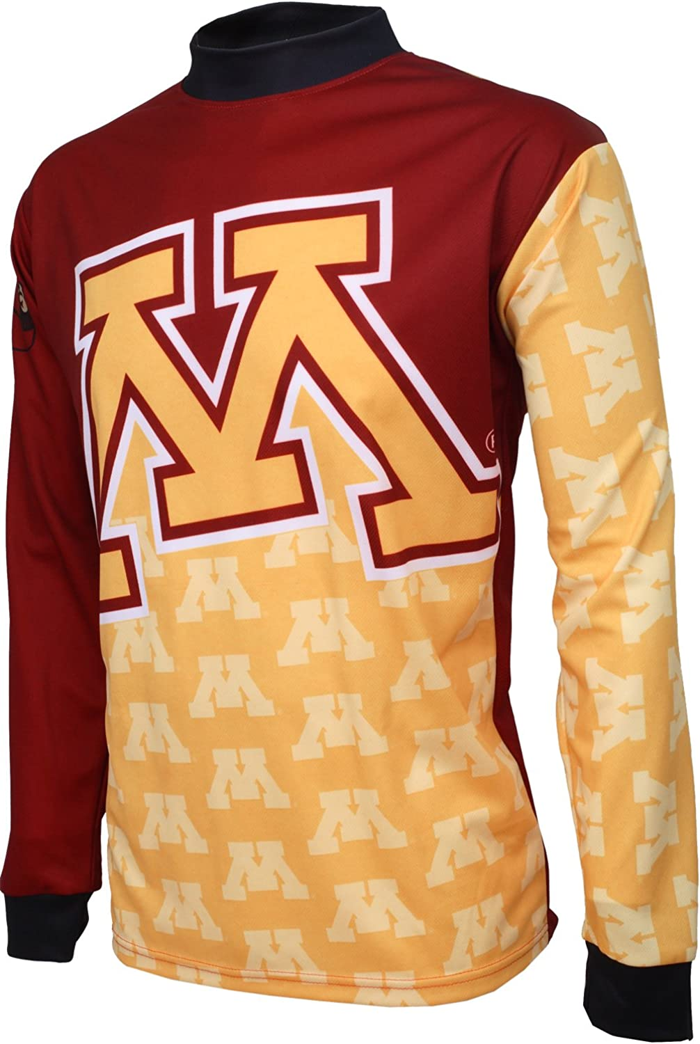 NCAA Minnesota golden Gophers Mountain Bike Cycling Jersey