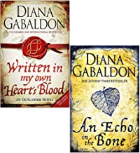 Outlander Series 2 Books Set By Diana Gabaldon (An Echo in the Bone, Written in My Own Heart's Blood)
