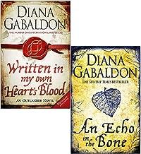 Outlander Series 2 Books Set By Diana Gabaldon (An Echo in the Bone, Written in My Own Heart's Blood)