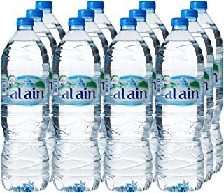 ALAIN Bottled Drinking Water Mega Offer Pack, 1.5 Litre (Pack of 12)