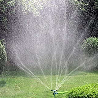 Kadaon Garden Sprinkler, 360 Degree Rotating Lawn Sprinkler with Up to 3,000 Sq. Ft..