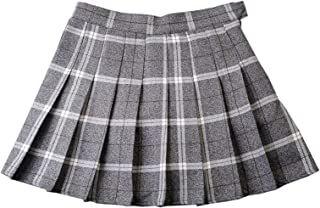 Women's Plaid Pleated Skirt
