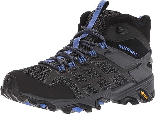 Merrell Wohommes Moab FST 2 MID Waterproof Hiking chaussures, noir Granite, 05.0 M US
