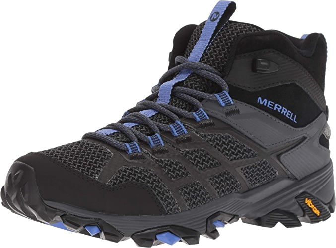Merrell Wohommes Moab FST 2 MID Waterproof Hiking chaussures, noir Granite, 10.5 M US