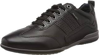 Geox U Timothy A, Zapatos de Cordones Derby Hombre